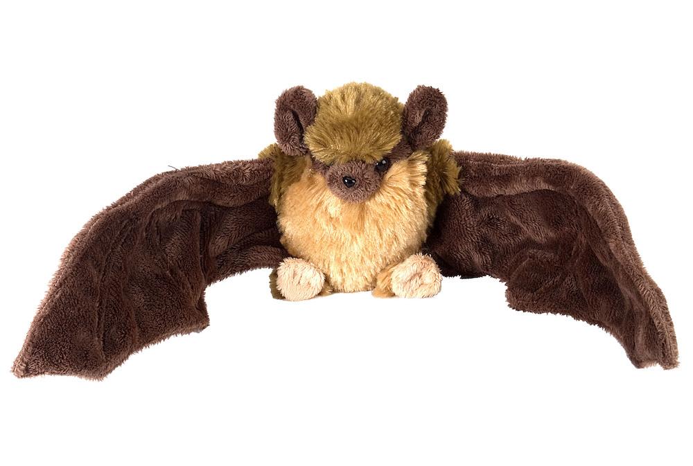 Ck Mini Cuddlekins 8 Brown Bat Stuffed Animal Each