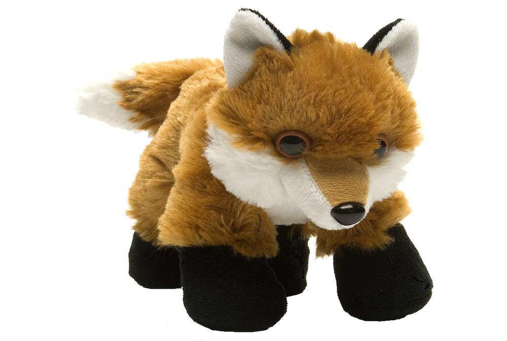 Hug Ems 7 Mini Red Fox Stuffed Animal Each