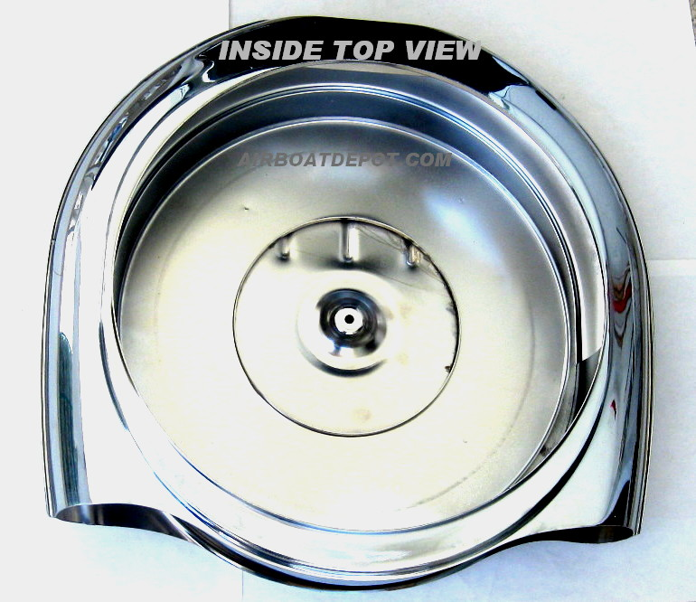 Reproduction Caddy Style Air Cleaner : Sunny s c retro style chrome air cleaner set cadillac