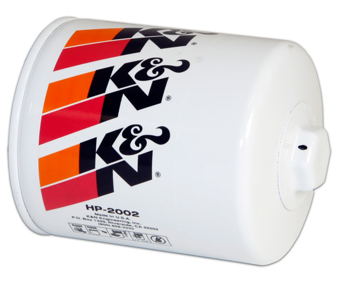K&N® HP-2002 HD Oil Filter, For Chevy 350 CID Air Boat
