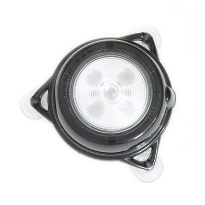 Davis 3460 Portable Solar Ed Led Dome Light White Red Interior Suction Cup Mount Each