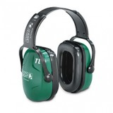 HONEYWELL HOWARD LEIGHT® Thunder Earmuff, T1 Headband Nrr26, Green/Black, Each