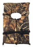 "Adult Universal Over 90 Lbs. Foam Yoke Vest, Camouflage, Type 2 USCG Approved, Chest Size: 30"" - 52"""