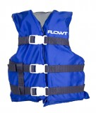Youth 50-90 Lbs., General Purpose Foam Life Vest, Blue, Type 2 USCG Approved, Chest Size: 24-29""