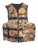 Angler Fishing Vest, Universal Adult, Camouflage, Type 2 USCG Approved