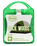 BOSS® 1003 Back Woods First Aid Care Kit, Plastic Tote & 25 Pieces, Each