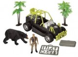 E-TEAM™ X BLACK BEAR SEARCH OFF-ROADER TOY 7 PC SET