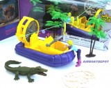 E-TEAM™ X GIRL SWAMPLINE EXPEDITION AIRBOAT TOY 7 PC SET (See WR Kids Video)