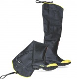 "BOSS® 2HS6231 Black Steel Toe Over the Sock 34"" Hip-Waders Industrial Waterproof Boots, Fabric Lined, Adjustable Buckle-Belt Loop Strap, Reinforced Knee & Toe Cap, ANSI Approved Class 75, Available in Men's Sizes: 5 to 13, Price Per Pair"