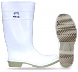 "BOSS® 2PP1924 White Majesty PVC Over the Sock 16"" Knee-High Industrial Waterproof Boots, Available in Men's Sizes: 06-13, 1 Pair"