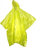 "BOSS® Yellow 4mm Sports Hooded Rain Poncho w/Sealed Side Seams, 52"" x 80"", One Size Fits All (Tour Ride Customers May Need One)"