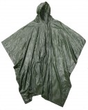 "BOSS® Green 10mm PVC Hooded Rain Poncho w/Side Snap Closure, 52"" x 80"", One Size Fits All"