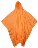 "BOSS® Orange 10mm PVC Hooded Rain Poncho w/Side Snap Closure, 52"" x 80"", One Size Fits All"