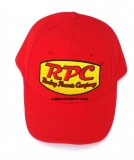 RPC® Logo Racing Red Cap With Red Stitching, One Size Fits All