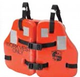 "STEARNS FORCE™ II Work Aqua-Foam Vest, Orange, Type V USCG Approved, Adult Chest Size: 34""-52"""