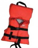 Infant Up To 50 Lbs., General Purpose Foam Life Vest, Red, Type 2 USCG Appr.