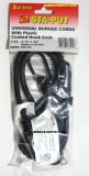 "3/8"" X 24"" Star Brite® STA-PUT Universal Bungee Cords W/ Plastic Coated Hook Ends, 2 Per Package"
