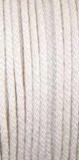 "1/2"" X 15' WHITE MFP DOUBLE BRAIDED DOCKLINE ROPE PRE-SPLICED FOR 12"" EYE, EACH"