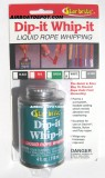 STAR BRITE® DIP-IT WHIP-IT Liquid Rope Whipping, White, 4 oz Can, Haz-Mat Shipping, Each