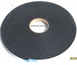 "Black Vinyl Foam Tape, 1/4"" Thick X 3/4"" W X 35' Long HD Sealer, Medium Density"