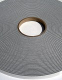 "Gray Vinyl Foam Tape, 1/8"" Thick X 1/2"" W X 75' L HD Sealer, Medium Density"