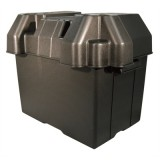 Large Marine Battery Box, Black, With Strap, For 27, 30 & 31 Series, Each