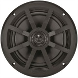 "JENSEN® MSX60BR 75W 6.5"" COAXIAL MARINE WATERPROOF SPEAKERS BLACK (SOLD PER PAIR)"