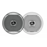 "JENSEN® MSX65R HI-PERF 150W 6.5"" COAXIAL MARINE 2 WATERPROOF SPEAKERS & INCLUDES BOTH WHITE & SILVER GRILLS (SOLD PER PAIR)"