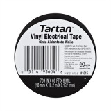 "3M® TARTAN General Vinyl Electrical Tape, Flame Retarded, UL Listed, 7mil, 3/4"" x 60' Roll, Sold Each"
