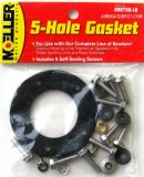 MOELLER® 5-Hole Gasket & Attaching Hardware For Use On Moeller Elect, Mech, & Diesel Sending Units & Reed Switches, Each