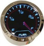 "RPC® R5712 Electric 2"" Fuel Level Gauge Evolution Series LED Display W/ Sensor, Chrome Rim, Bezel, & Mounting Hardware, Each"