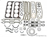 ENGINE TECH™ FULL SET GASKET WITH FIRE SEAL TECHNOLOGY, GM V-8 CHEVY 350, 327, 307, 302, 283 C.I.D.