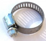 "IDEAL TRIDON® SAE #6 HD All Stainless Steel 5/16""-7/8"" / 8-22mm Hose Clamp, Usually for Fuel Lines, Price Per 2"