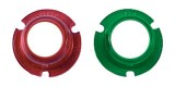 PERKO #0281DPALNS Red & Green Lens Set For Perko #0963DPOCHR Side Lights