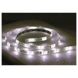 "TH MARINE® Weather Resistant L.E.D. 48"" Length Flexible/Cuttable Adhesive Light Strip, 12 Volt, White, Each"