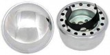 "RPC® R4802 Chrome Steel ""Push-In"" Oil Filler Cap, 2-3/8"" Diameter & Fits In Oil Filler Tube, Vehicles Specified"