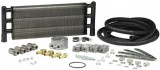 "HAYDEN® HD 1040A SWIRL COOL® Aluminum Oil Cooler Kit, 6"" X 18"" X 1.5"", 1/2"" Inlet/Outlet Fitting, 14.25"" Core, Fits most U.S. Engines, Except Chevy V-8"