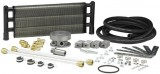"HAYDEN® HD 1046B SWIRL COOL® Aluminum Oil Cooler Kit, 6"" X 18"" X 1.5"", 1/2"" Inlet/Outlet Fitting, 14.25"" Core, Fits Chevy SB & BB V-8's"