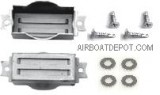 RPC® R6034 Baffle Set For SB Chevy Short, Center Bolt & BB Chevy Tall Aluminum Valve Covers W/Hardware, Price Per Set