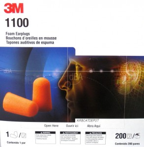 3M® 1100 Disposable Uncorded Foam Earplugs Nrr29, Orange, 200 Pairs Per Box, Price Per Box