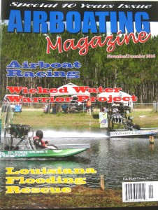 AIRBOATING MAGAZINE Current or Past Issues Available, Each