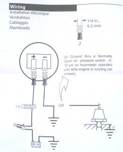 Hour Meter Engine Wiring Diagram - Wiring Schematics on