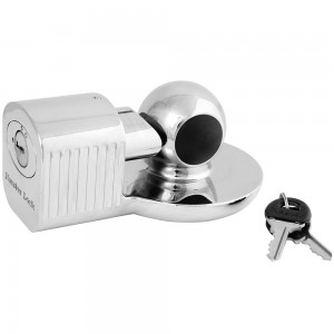 MASTER LOCK SOLID BRASS COUPLER LOCK , W/ 2 KEYS